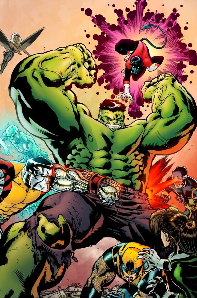 WW Hulk X-Men